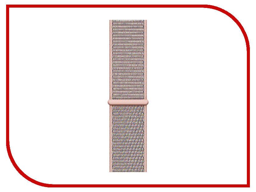 Аксессуар Ремешок APPLE Watch 44mm Sport Loop Pink Sand MTM92ZM/A ремешок apple sport loop для watch 38 мм желтый неон