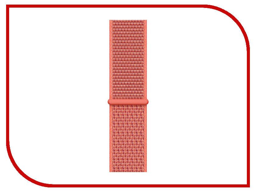Аксессуар Ремешок APPLE Watch 44mm Sport Loop Nectarine MTMC2ZM/A ремешок apple sport loop для watch 38 мм желтый неон