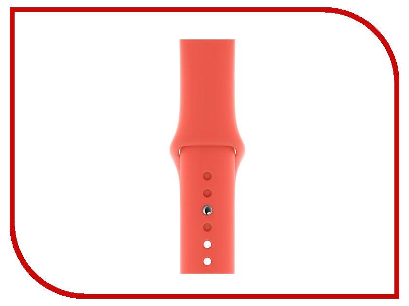 Аксессуар Ремешок APPLE Watch 40mm Sport Band S/M - M/L Nectarine MTPA2ZM/A аксессуар ремешок activ sport band для apple watch 38mm terracotta 79535