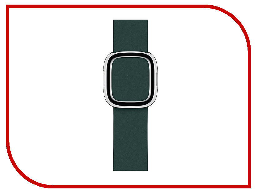 Аксессуар Ремешок APPLE Watch 40mm Modern Buckle Band Medium Forest Green MTQJ2ZM/A 16mm 18mm 20mm 22mm ceramic and stainless steel watchband bracelet rose gold white watch band watch strap butterfly buckle clasp