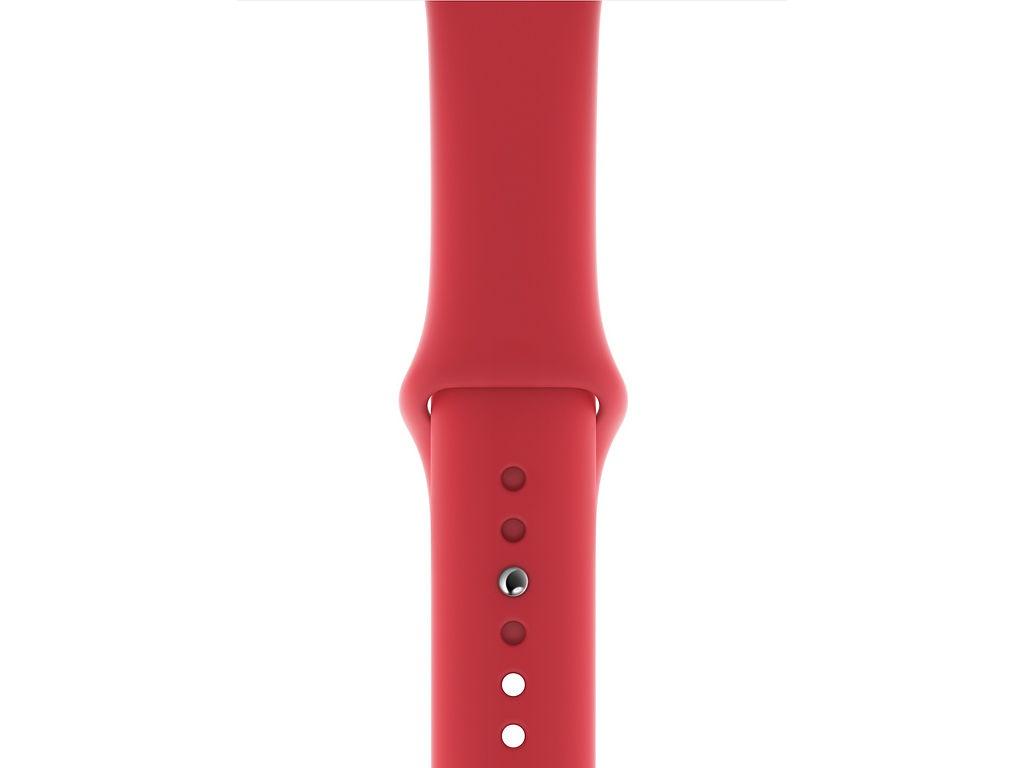 Аксессуар Ремешок APPLE Watch 44mm Sport Band S/M - M/L Product Red MU9N2ZM/A fashion men s sport sliver stainless steel modern date analog quartz band watch