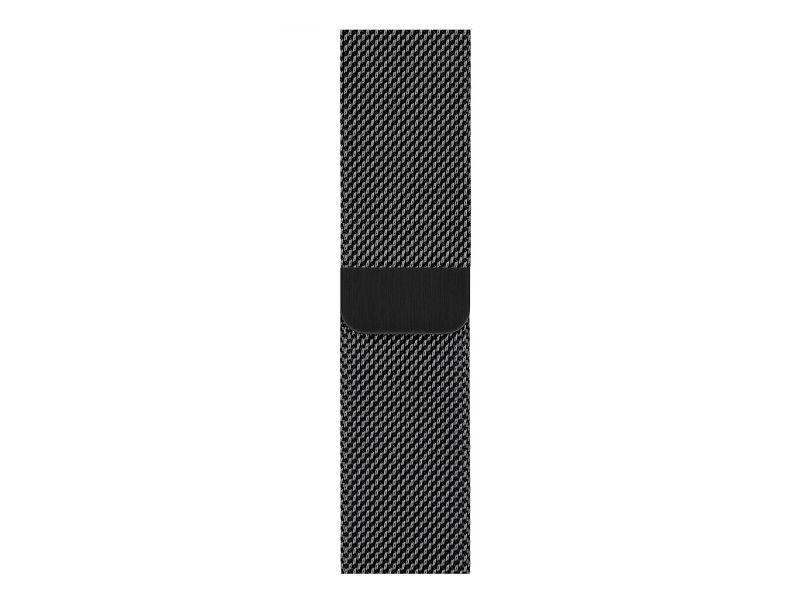 Аксессуар Ремешок APPLE Watch 40mm Milanese Loop Space Black MTU12ZM/A аксессуар ремешок innovation milan loop для apple watch 38 40 gold 14252