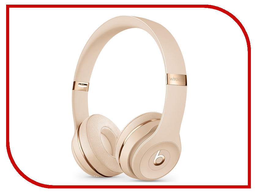 цена Beats Solo3 Wireless Satin Gold MUH42EE/A