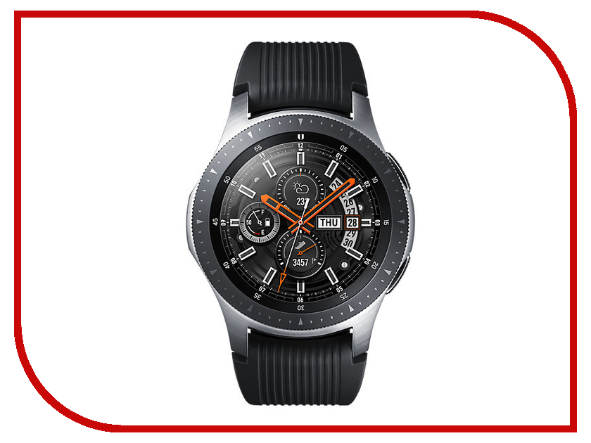Умные часы Samsung Galaxy Watch 46mm Silver Steel SM-R800NZSASER weide wh903 stainless steel analog digital quartz led wrist watch for men silver 1 x sr626