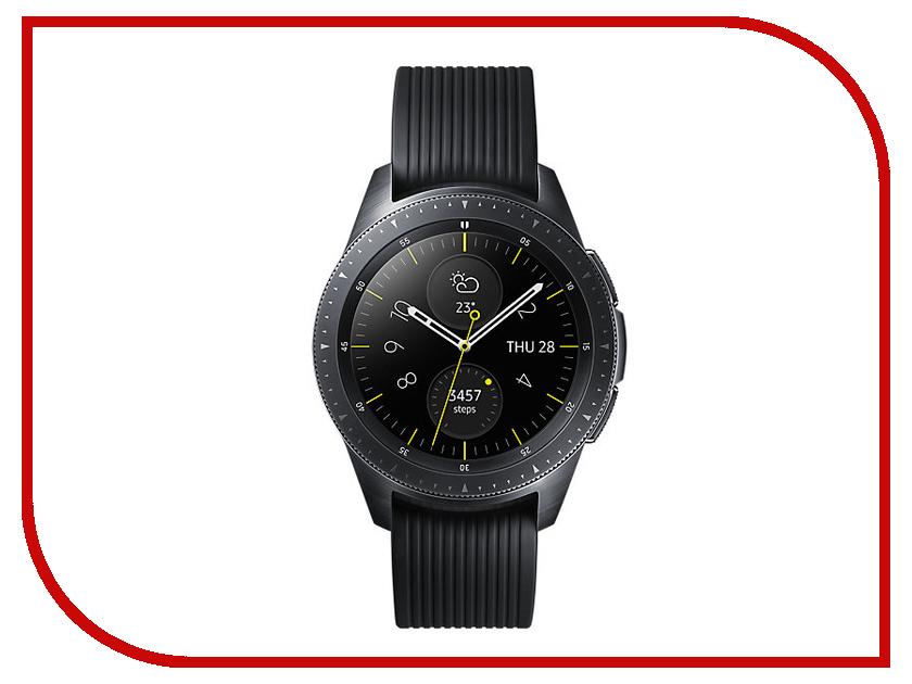 Умные часы Samsung Galaxy Watch 42mm Deep Black SM-R810NZKASER design novel 1pc stylish stainless steel watch band for samsung galaxy gear s2 classic sm r732 fashion m4 dropshipping