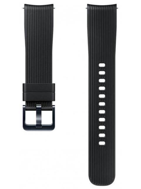 Аксессуар Ремешок Samsung Galaxy Watch 42mm Silicone Black ET-YSU81MBEGRU аксессуар ремешок samsung galaxy watch 42mm silicone silver et ysu81msegru