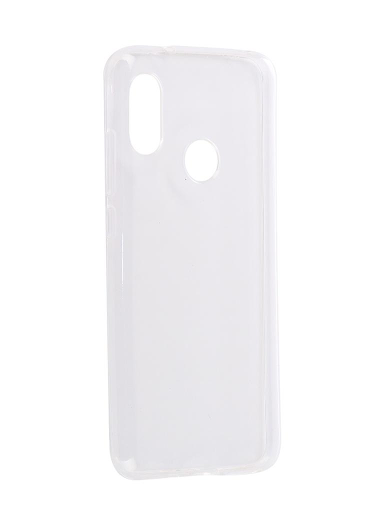 Аксессуар Чехол Svekla для Xiaomi Mi A2 Lite / Redmi 6 Pro Svekla Silicone Transparent SV-XIMIA2L-WH