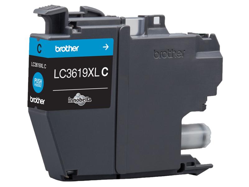 Картридж Brother LC3619XLC Cyan для MFC-J3530DW/J3930DW
