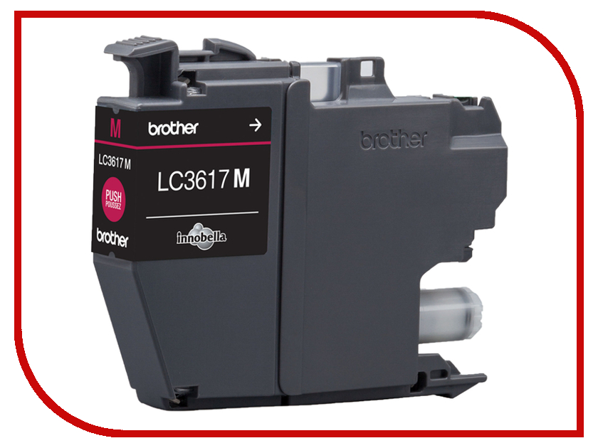 Картридж Brother LC3617M Magenta для MFC-J3530DW/J3930DW картридж brother lc3617m пурпурный
