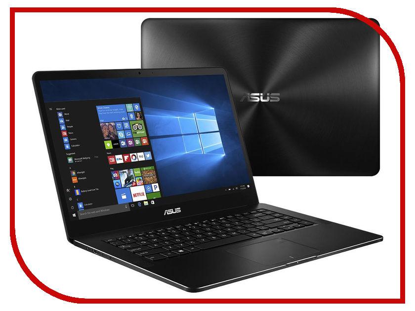 Ноутбук ASUS Zenbook Pro Ultra HD UX550VE-E3173R 90NB0ES2-M03490 Black (Intel Core i7-7700HQ 2.8 GHz/16384Mb/1000Gb SSD/nVidia GeForce GTX 1050 Ti 4096Mb/Wi-Fi/Bluetooth/Cam/15.6/3840x2160/Windows 10 64-bit) ноутбук acer predator g3 572 70jm black nh q2cer 005 intel core i7 7700hq 2 8 ghz 16384mb 1000gb 128gb ssd nvidia geforce gtx 1050 ti 4096mb wi fi bluetooth cam 15 6 1920x1080 linux