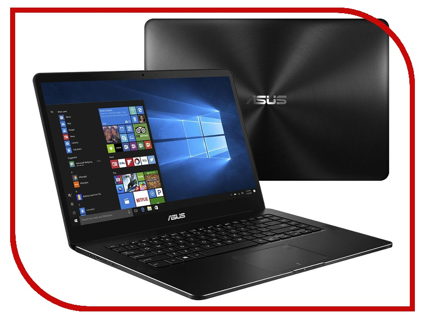 Ноутбук ASUS Zenbook Pro UX550VD-BN246T 90NB0ET2-M04430 Black (Intel Core i7-7700HQ 2.8 GHz/8192Mb/512Gb SSD/nVidia GeForce GTX 1050 4096Mb/Wi-Fi/Bluetooth/Cam/15.6/1920x1080/Windows 10 64-bit) ноутбук asus zenbook pro ux550vd bn246t 90nb0et2 m04430 black intel core i7 7700hq 2 8 ghz 8192mb 512gb ssd nvidia geforce gtx 1050 4096mb wi fi bluetooth cam 15 6 1920x1080 windows 10 64 bit
