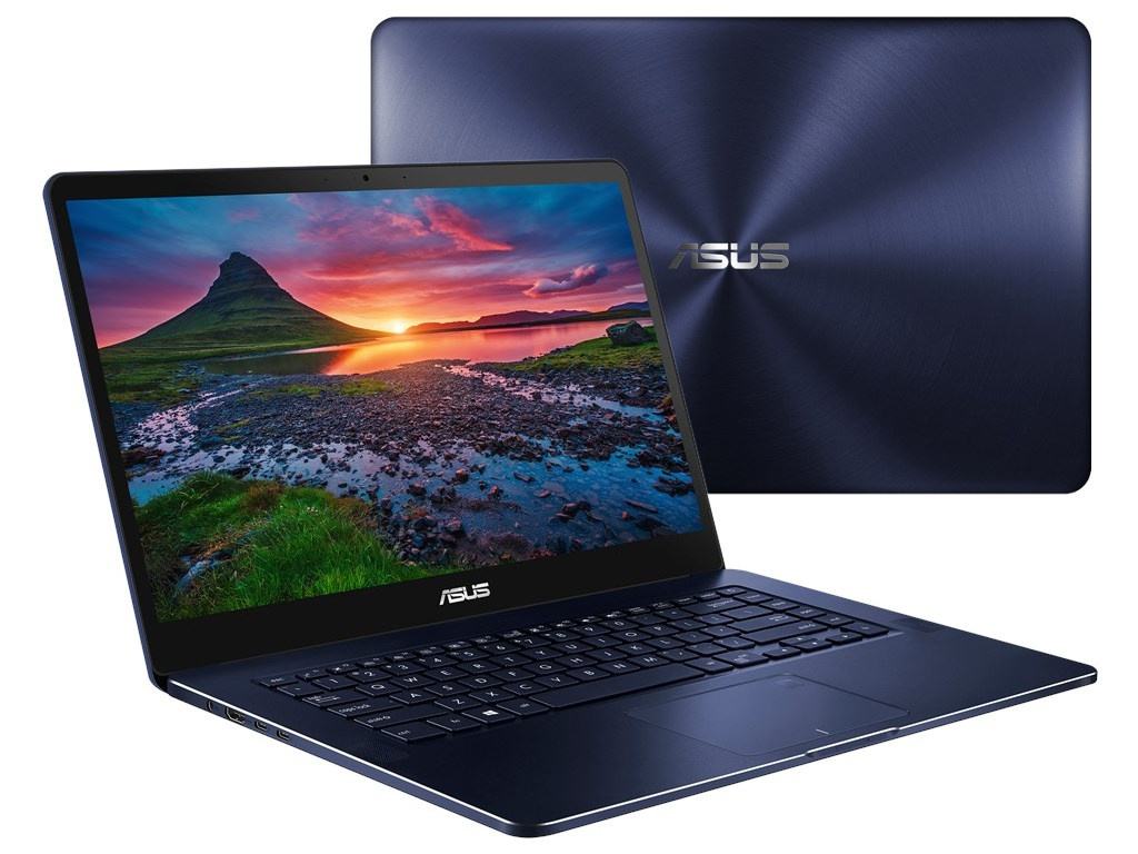 Ноутбук ASUS Zenbook Pro UX550VD-BN247T 90NB0ET1-M04440 Blue (Intel Core i5-7300HQ 2.5 GHz/8192Mb/256Gb SSD/nVidia GeForce GTX 1050 4096Mb/Wi-Fi/Bluetooth/Cam/15.6/1920x1080/Windows 10 64-bit) ноутбук lenovo yoga 720 15ikb 80x70031rk intel core i5 7300hq 2 5 ghz 8192mb 256gb no odd nvidia geforce gtx 1050 4096mb wi fi bluetooth cam 15 6 1920x1080 touchscreen windows 10 64 bit