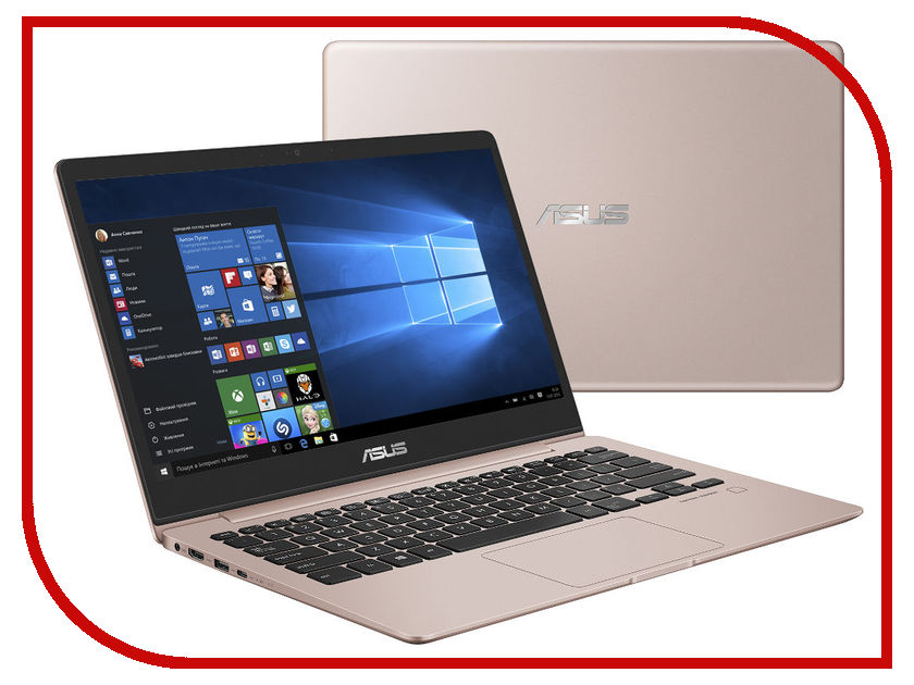 Ноутбук ASUS Zenbook 13 Light UX331UAL-EG058R Rose Gold 90NB0HT4-M03050 (Intel Core i5-8250U 1.6 GHz/8192Mb/512Gb SSD/Intel HD Graphics/Wi-Fi/Bluetooth/Cam/13.3/1920x1080/Windows 10 Pro 64-bit)