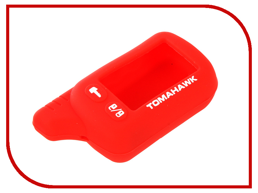 Аксессуар Чехол для Tomahawk TZ 9010 Kalita Case Red чехол для брелка сигнализации tomahawk 7000 7010 9000 9010 new кобура замша синяя