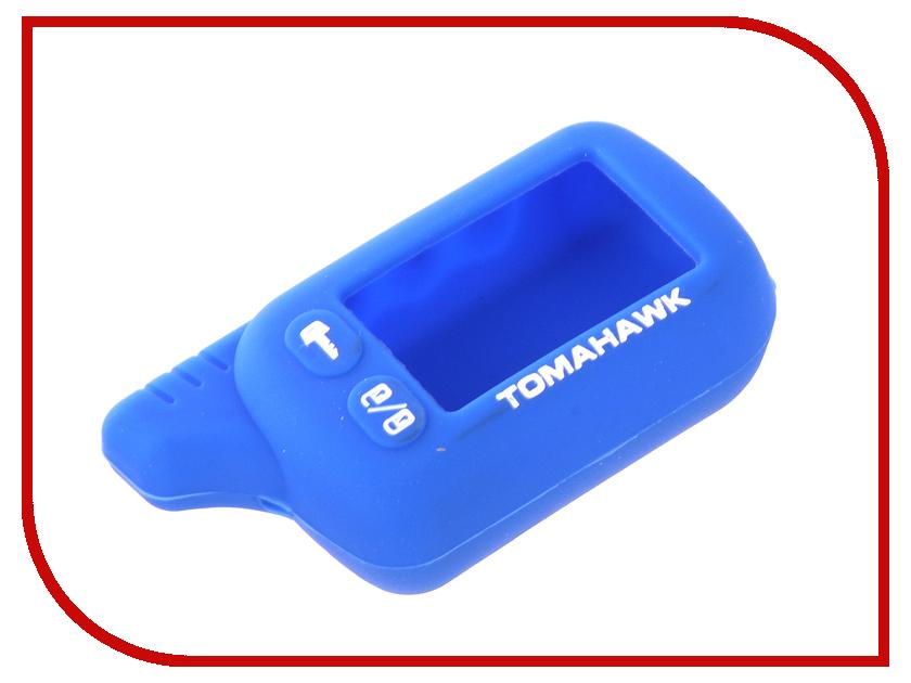 Аксессуар Чехол для Tomahawk TZ 9010 Kalita Case Blue чехол для брелка сигнализации tomahawk 7000 7010 9000 9010 new кобура замша синяя