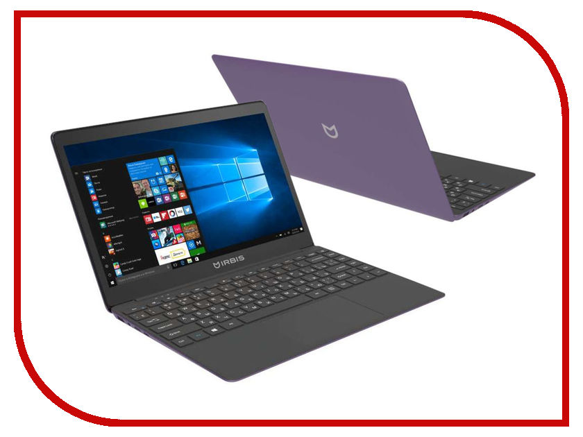 Ноутбук Irbis NB231 Violet (Intel Celeron N3350 1.1 GHz/3072Mb/32Gb SSD/Intel HD Graphics/Wi-Fi/Bluetooth/Cam/13.3/1920x1080/Windows 10 Home) ноутбук krez n1304 black intel celeron n3350 1 1 ghz 3072mb 32gb no odd intel hd graphics wi fi bluetooth cam 13 3 1920x1080 windows 10 pro