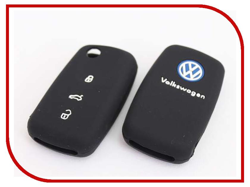 Аксессуар Чехол для ключа Volkswagen Kalita Case Silicone KC-SLK-VW-01