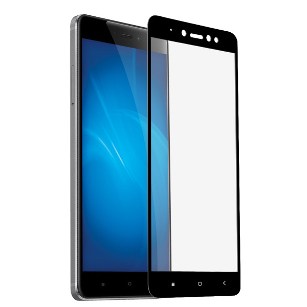 Аксессуар Защитное стекло LuxCase для Xiaomi Redmi Note 5A 2.5D Full Screen Black Frame 77827 цена