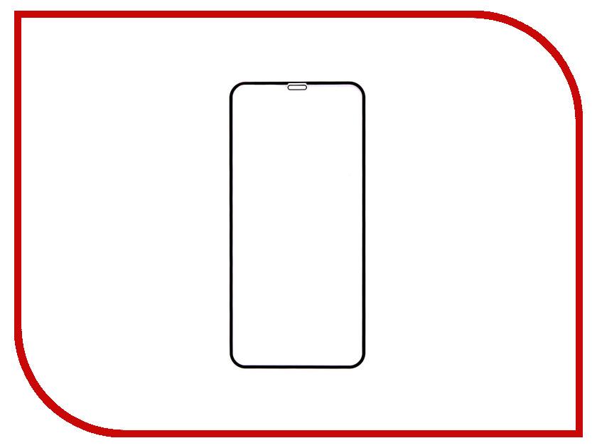Аксессуар Защитное стекло Onext 3D Full Glue для APPLE iPhone XR Black 41893 аксессуар защитное стекло onext 3d для apple iphone 7 red 41325