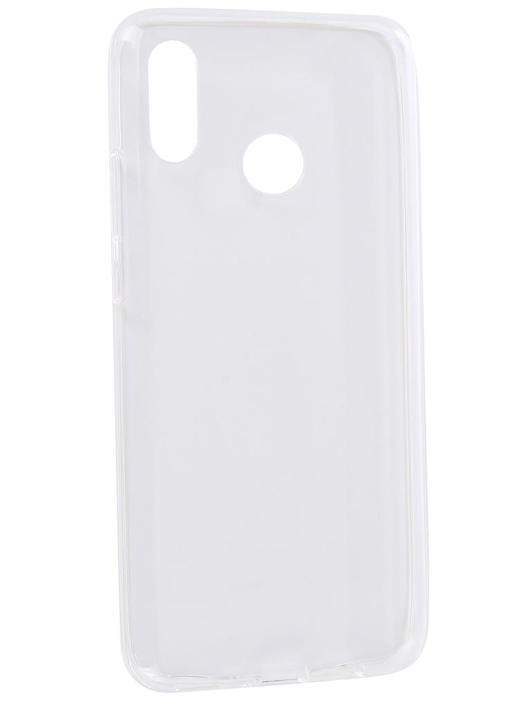 Аксессуар Чехол iBox для Huawei Nova 3 iBox Crystal Transparent ibox ут000005622 white