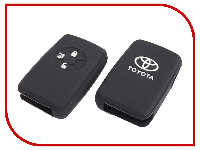 Аксессуар Чехол для ключа Toyota Kalita Case Silicone KC-SLK-T-03