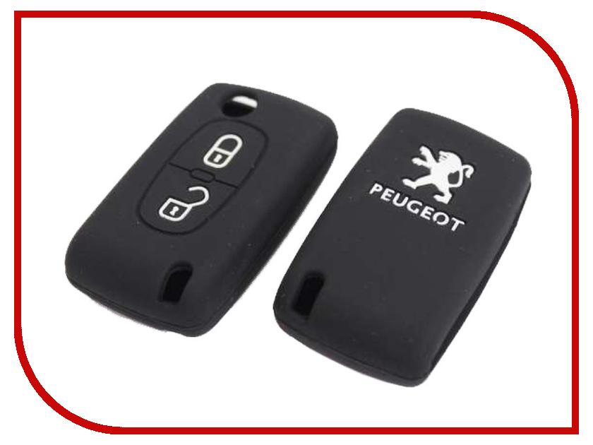 Аксессуар Чехол для ключа Peugeot Kalita Case Silicone KC-SLK-PG-01