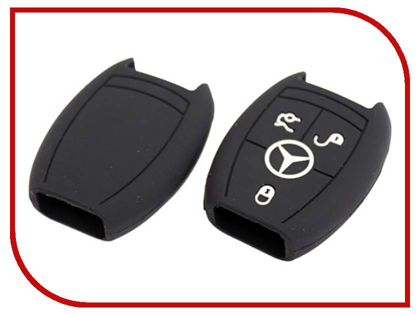 Аксессуар Чехол для ключа Mercedes Kalita Case Silicone KC-SLK-MS-02