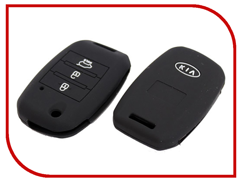 Купить УФ-00001285, Аксессуар Чехол для ключа KIA Kalita Case Silicone KC-SLK-KIA-02