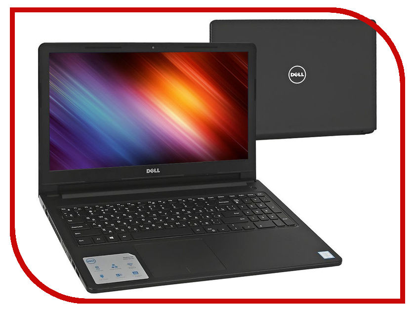 Ноутбук Dell Vostro 3568 3568-3063 Black (Intel Core i3-6006U 2.0 GHz/4096Mb/500Gb/Intel HD Graphics/Wi-Fi/Cam/15.6/1366x768/Linux) скороварка daewoo dec 3568