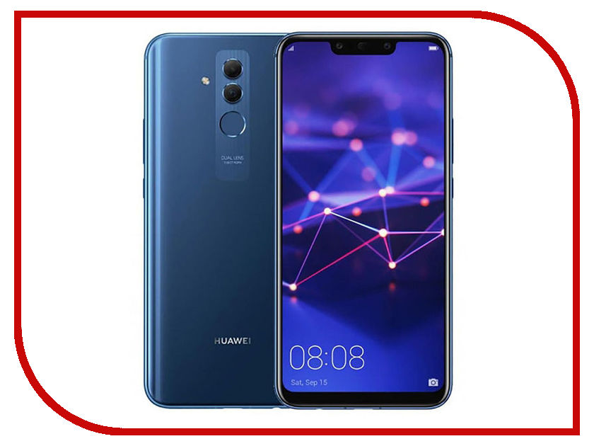 Сотовый телефон Huawei Mate 20 Lite 64Gb Blue смартфон huawei mate 20 lite черный