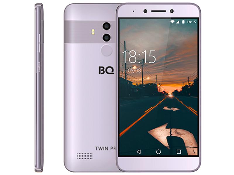 Сотовый телефон BQ 5517L Twin Pro Grey сотовый