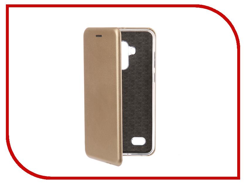 Аксессуар Чехол для BQ BQ-5517L Twin Pro Экокожа, Silicone Gold смартфон bq mobile bq 5517l twin pro grey