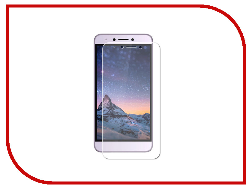 Аксессуар Защитное стекло для BQ BQ-5516 Twin/BQ-5517 Twin Pro witblue new for 7 bq 7083g light bq 7083g tablet touch screen panel digitizer glass sensor replacement free shipping