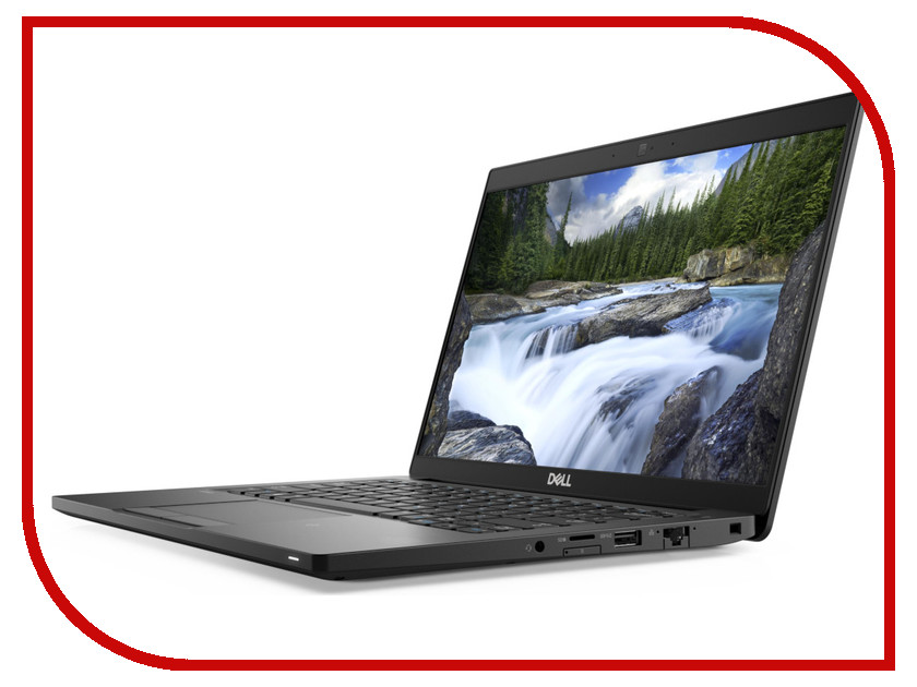 Ноутбук Dell Latitude 7390 7390-1641 Black (Intel Core i5-8250U 1.6 GHz/8192Mb/256Gb SSD/No ODD/Intel HD Graphics/Wi-Fi/Cam/13.3/1920x1080/Windows 10 64-bit) цена
