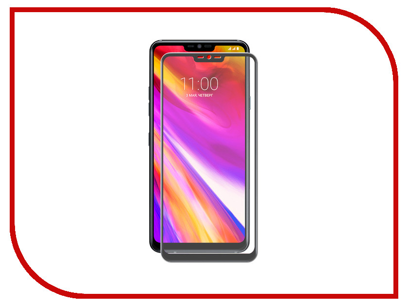 Аксессуар Защитное стекло для LG G7 ZibelinoTG Full Screen Black ZTG-FS-LG-G7-BLK warranty tested screen for lg g3 d850 d851 d855 lcd touch screen digitizer assembly display replacement with tools as gift