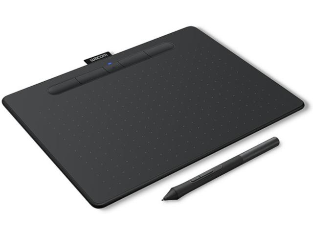 Графический планшет Wacom Intuos M Bluetooth Black CTL-6100WLK-N Выгодный набор + серт. 200Р!!!