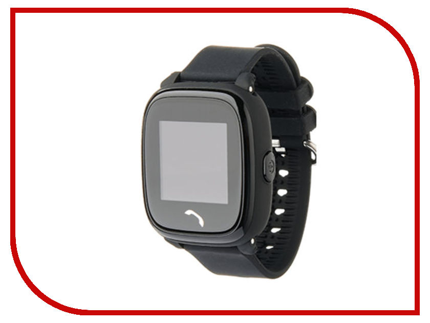 Smart Baby Watch W9 Black z4 smart watch leather strap black