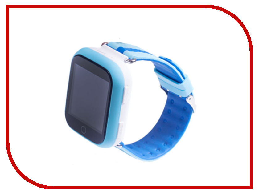 Smart Baby Watch Q90 Light Blue teamyo ecg d02 smart bracelet blood pressure wearable devices monitor cardiaco fitness watch tracker pedometer smart wristband