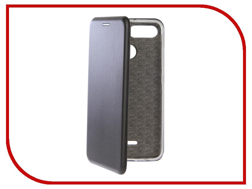 Аксессуар Чехол для Xiaomi Redmi 6 Zibelino Book Black ZB-XIA-RDM-6-BLK аксессуар чехол xiaomi redmi note 5a zibelino cover back elegant black zb xia rdm not5a blk
