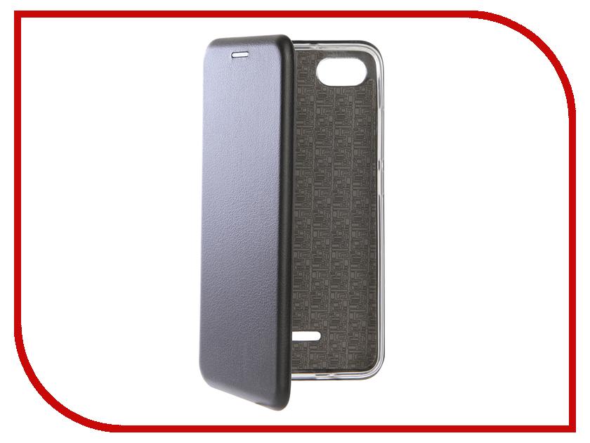 Аксессуар Чехол для Xiaomi Redmi 6A Zibelino Book Black ZB-XIA-RDM-6A-BLK цена