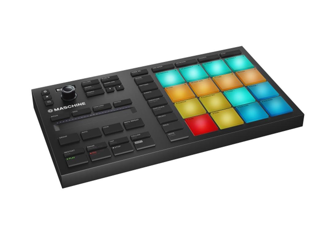 MIDI-контроллер Native Instruments Maschine Mikro Mk3 midi контроллер native instruments maschine studio white