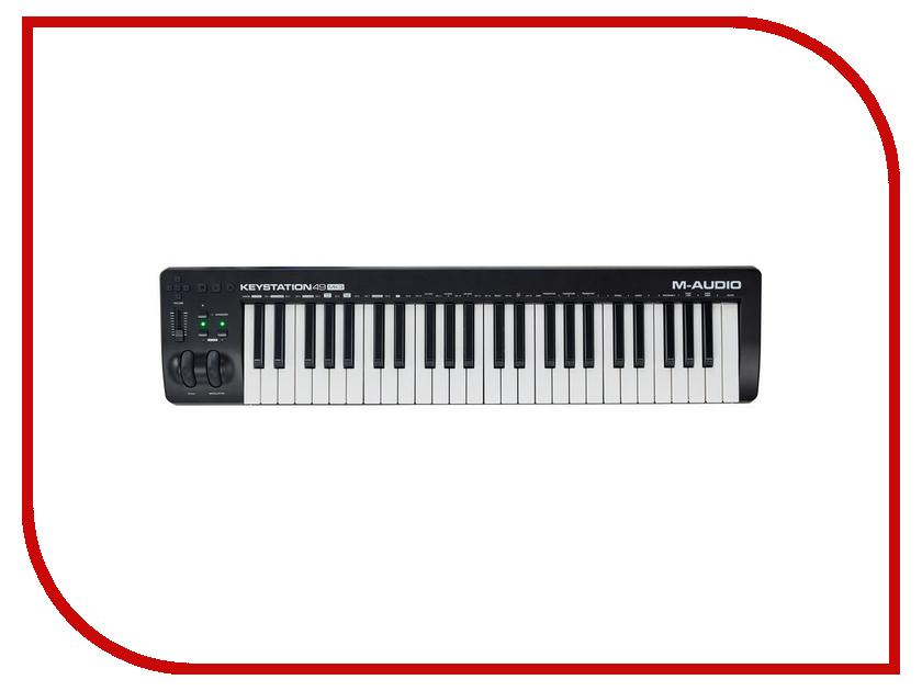 MIDI-клавиатура M-Audio Keystation 49 MK3 midi клавиатура 49 клавиш samson carbon 49