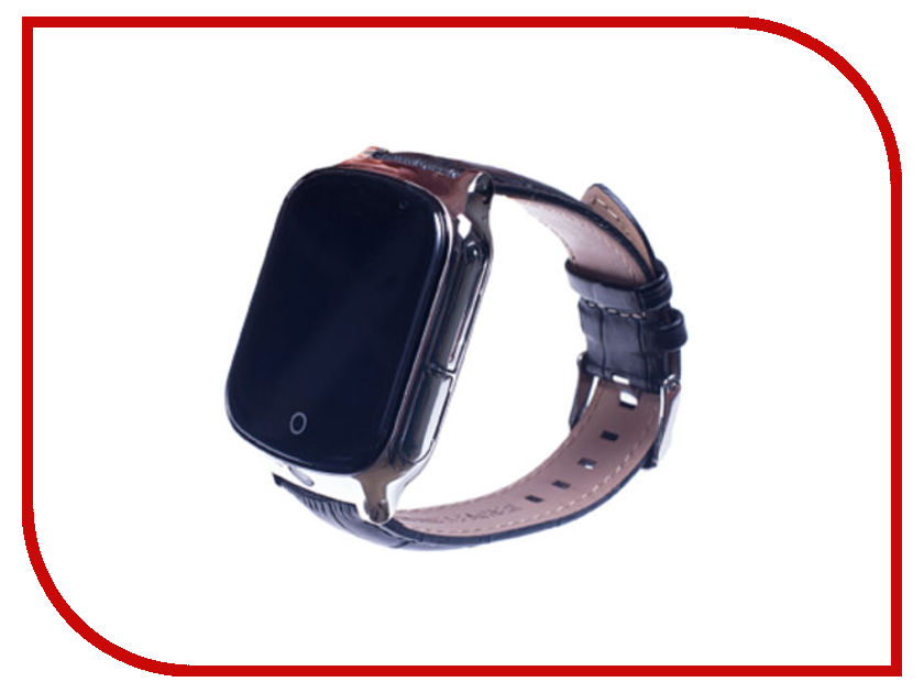 Smart Baby Watch T100 Black z4 smart watch leather strap black