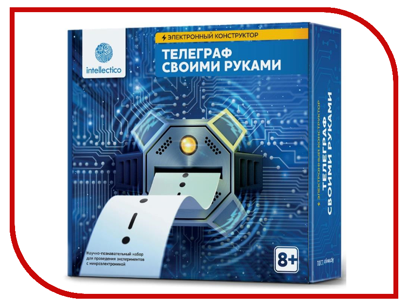 Конструктор Intellectico Телеграф своими руками 1101 набор intellectico 1101 телеграф своими руками