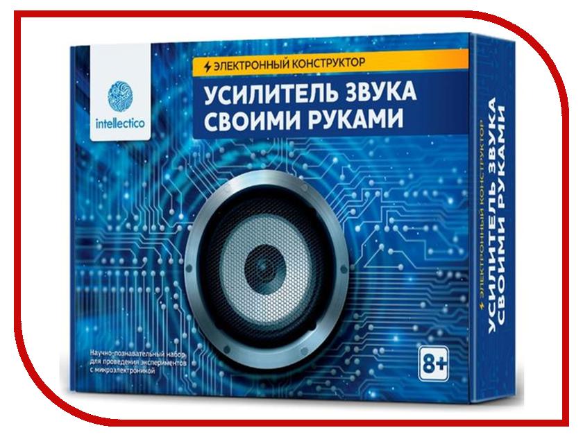 Конструктор Intellectico Усилитель звука своими руками 1001 конструктор intellectico таймер своими руками 1008