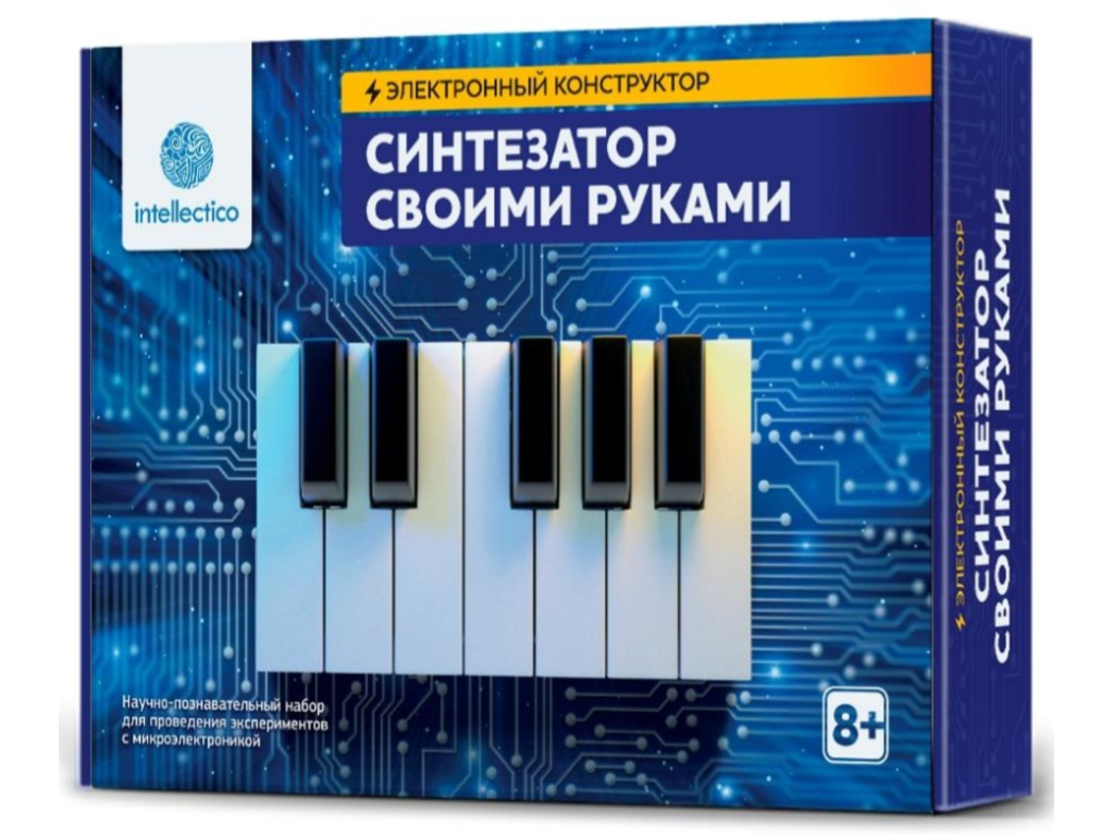 Конструктор Intellectico Синтезатор своими руками 1004