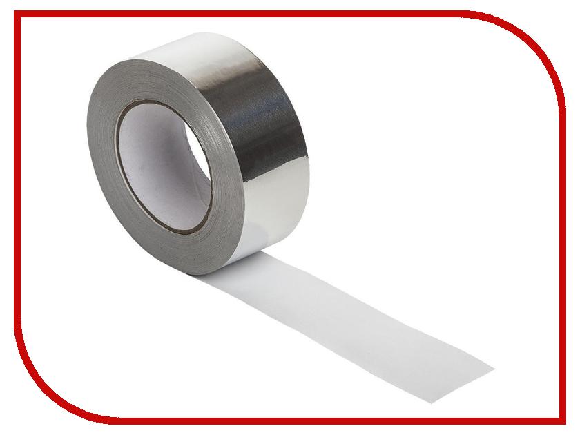 Клейкая лента MasterProf Алюминиевая 48mm x 10m HS.070029 лента малярная masterprof hs 070014