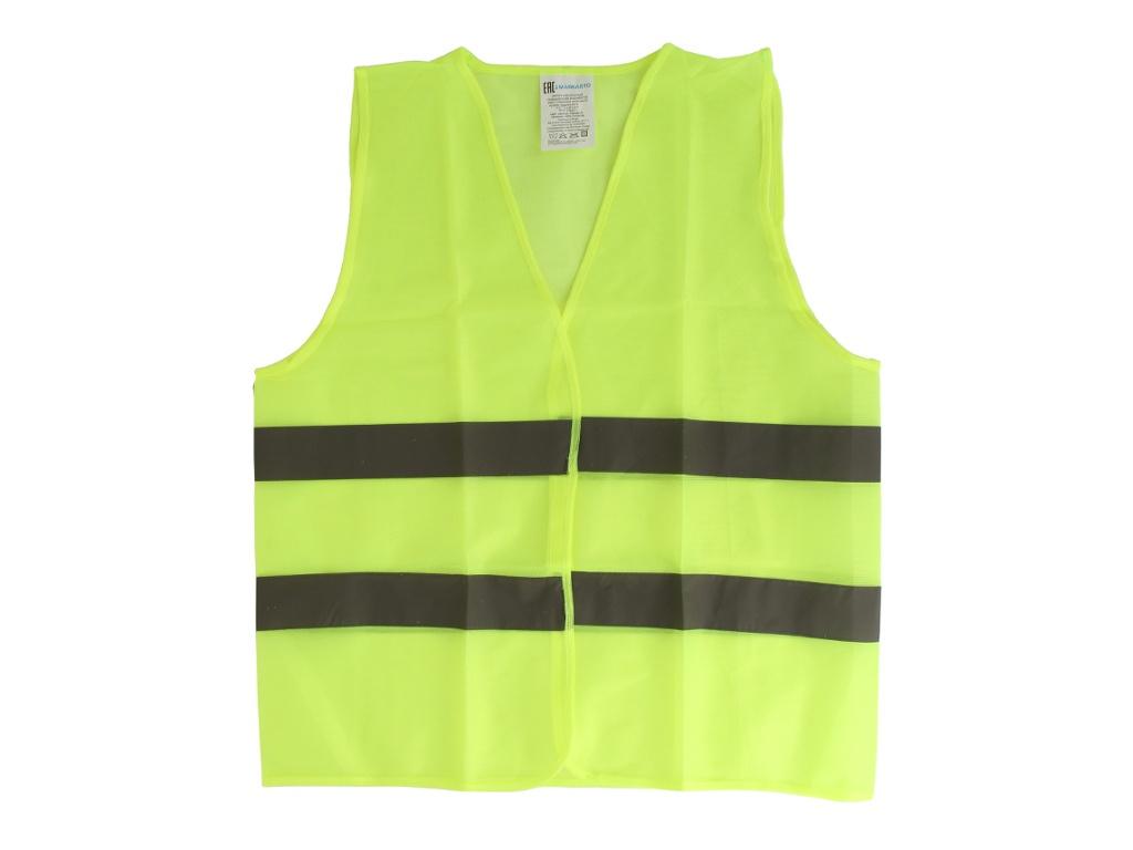 Жилет МаякАвто 60x70 Размер XL Yellow 1/200_ 6070