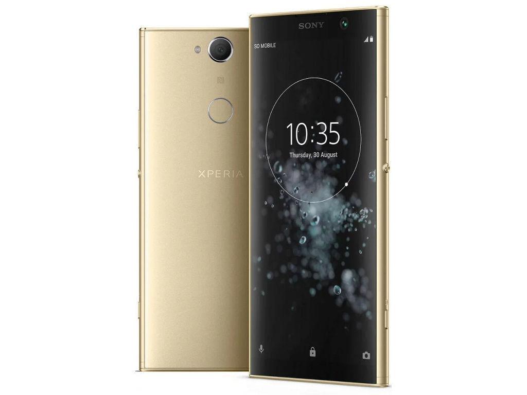 Сотовый телефон Sony Xperia XA2 Plus 32GB Gold смартфон sony h4413 32 gb зеленый