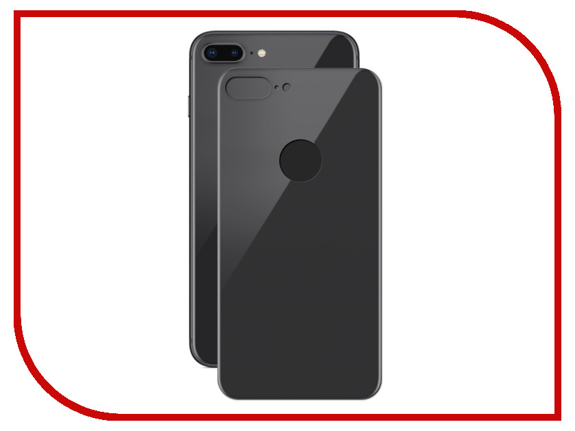 Аксессуар Защитное стекло Solomon 2.5D Full Cover Back Black для APPLE iPhone 8 Plus 2117 screwdriver torx screwdriver repair for iphone 7 7g like 8 8g back cover housing battery cover door rear cover chassis frame